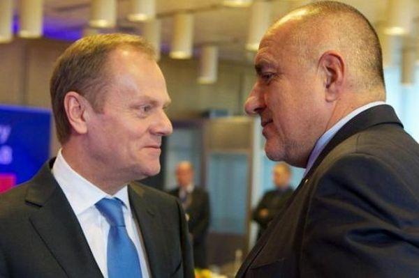 Доналд Туск: Борисов допусна явни грешки, включително и в личния си живот. Той е в беда!